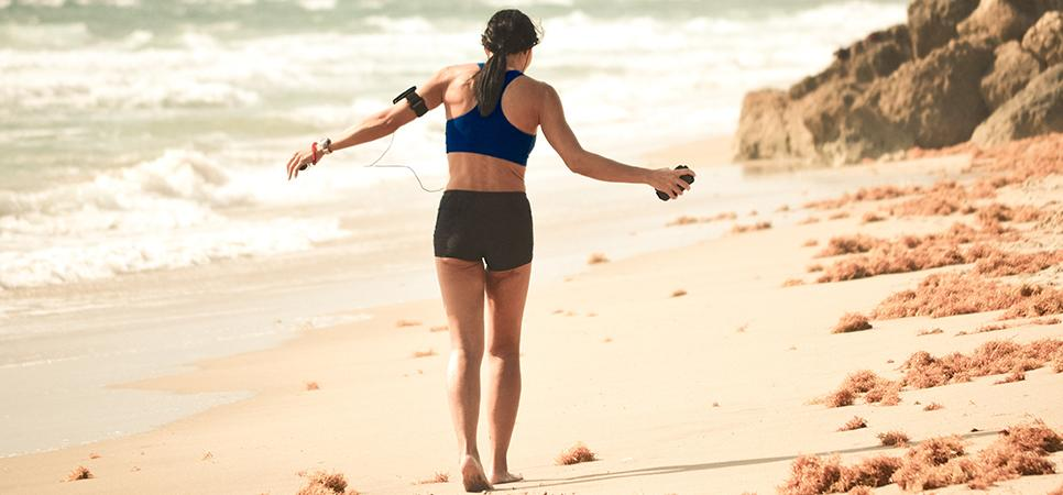 Summer fitness brings everyone outside to workout and get fit... how do you exercise?