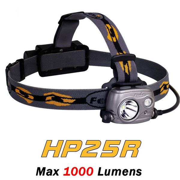 Fenix HP25R 1000 Lumens Rechargeable Headlamp