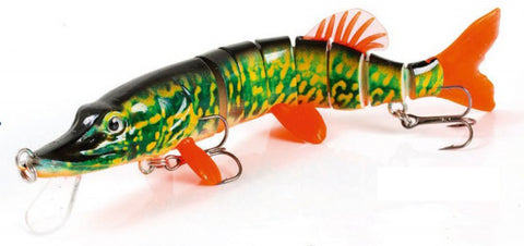 Fladen Living Baby Pike Fishing Lure - Diving Lure 20cm 60g
