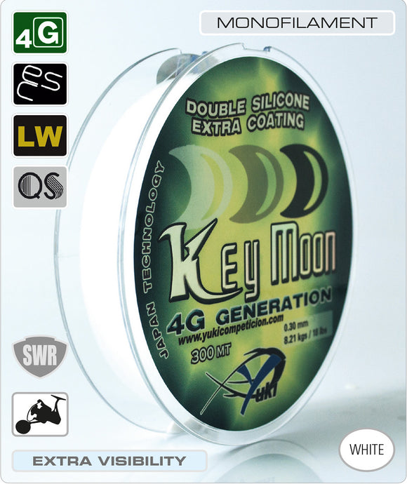 Yuki 4G Generation Key Moon Premium Fishing Line 300M Spool