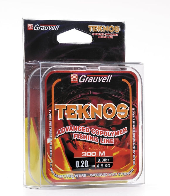 Grauvell Teknos Advanced Fishing Line 300m Spool