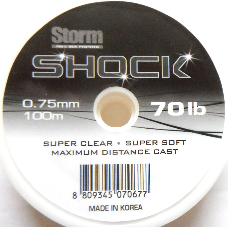 Seatech Sea Fishing Shock Leader Line 100m Spool