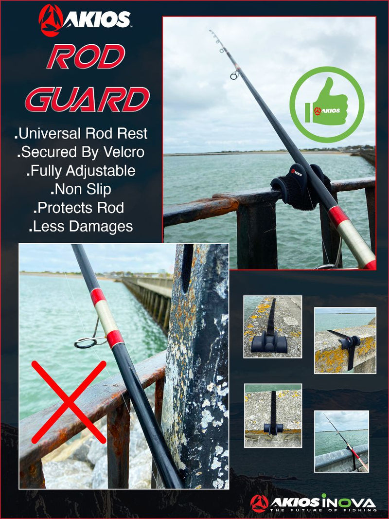 Akios Fishing Rod Guard Support Rest