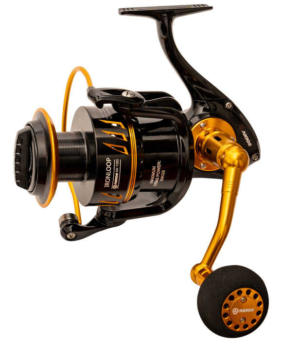 Akios Ironloop 100 Surf Casting Sea Fishing Reel