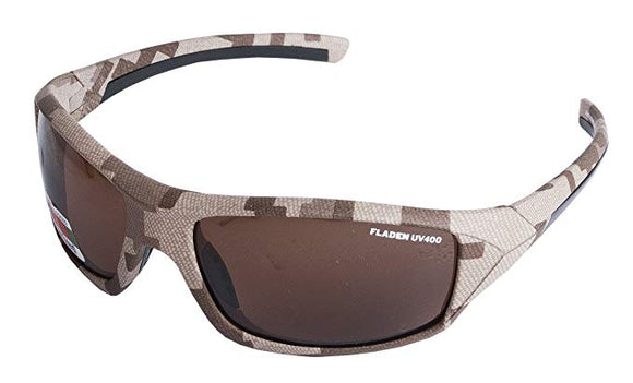 Fladen Bush Polarized Sunglasses Camo Frame - Copper Lens