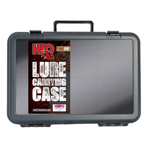 HTO Fishing Lure Tackle Box Carrying Case