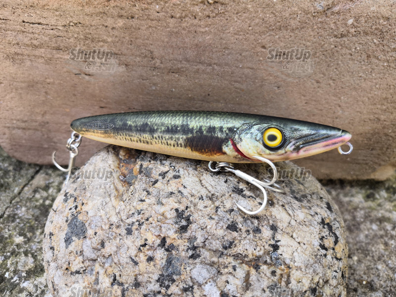 Fishus Lurenzo Espetit Fishing Lures 140mm 32g Various Colours