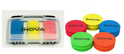 Inova Rig Wrapper Sea Fishing Tackle Box With 24 Rig Winders
