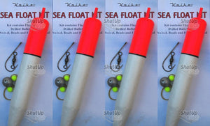 Koike Large Sea Fishing Sliding Float Kit 19cm x 4 Kits