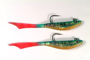 Tronixpro Flame Tail Fishing Lure - Mackerel Colour