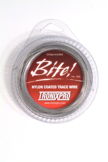 Tronixpro Fishing Trace Wire 10m Includes Crimps