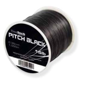 SeaTech Pitch Black Tournament Black Fishing Line