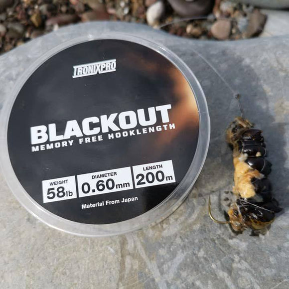 Tronixpro Blackout Memory Free Fishing Line Clear 200m Spool