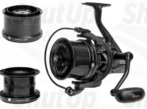 Akios Utopia SX8 Fixed Spool Fishing Reel