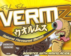 Vermz Worm Scented Sandworm Soft Baits