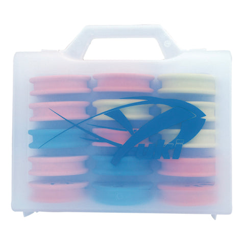 Yuki Rig Winder Tackle Box Includes 15 Winders