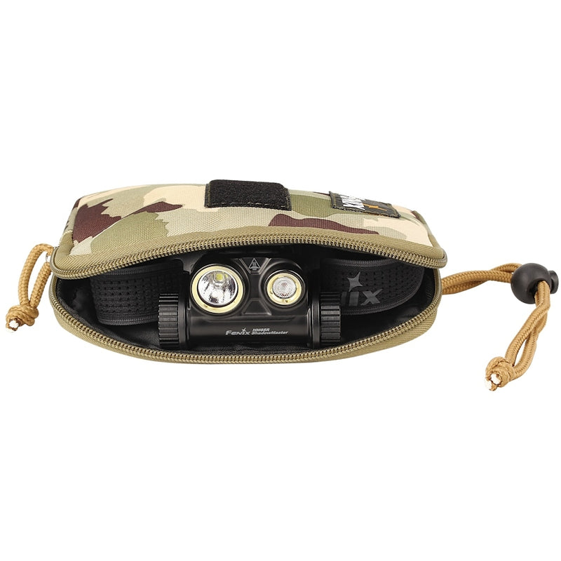 Fenix APB-30 Camo Headlamp Storage Bag For HL60R HM65R Series Head Torches
