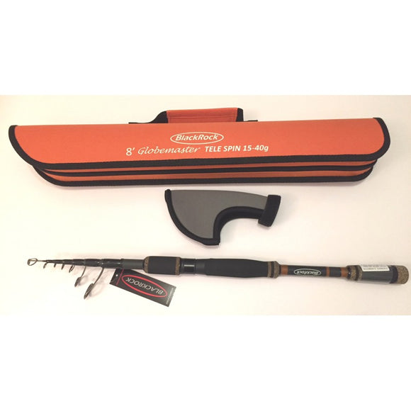Blackrock Geotrex Globemaster Travel Telescopic Fishing Rod 8ft