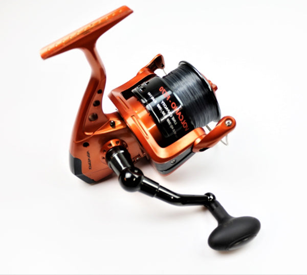 Fishzone Volcano FZ70 Sea Surf Fishing Reel Pre Spooled With Line
