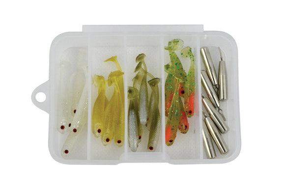HTO GO Box Drop Shot Lure Fishing Tackle Box