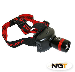 NGT High Power Cree LED 3W Zoom Head Lamp