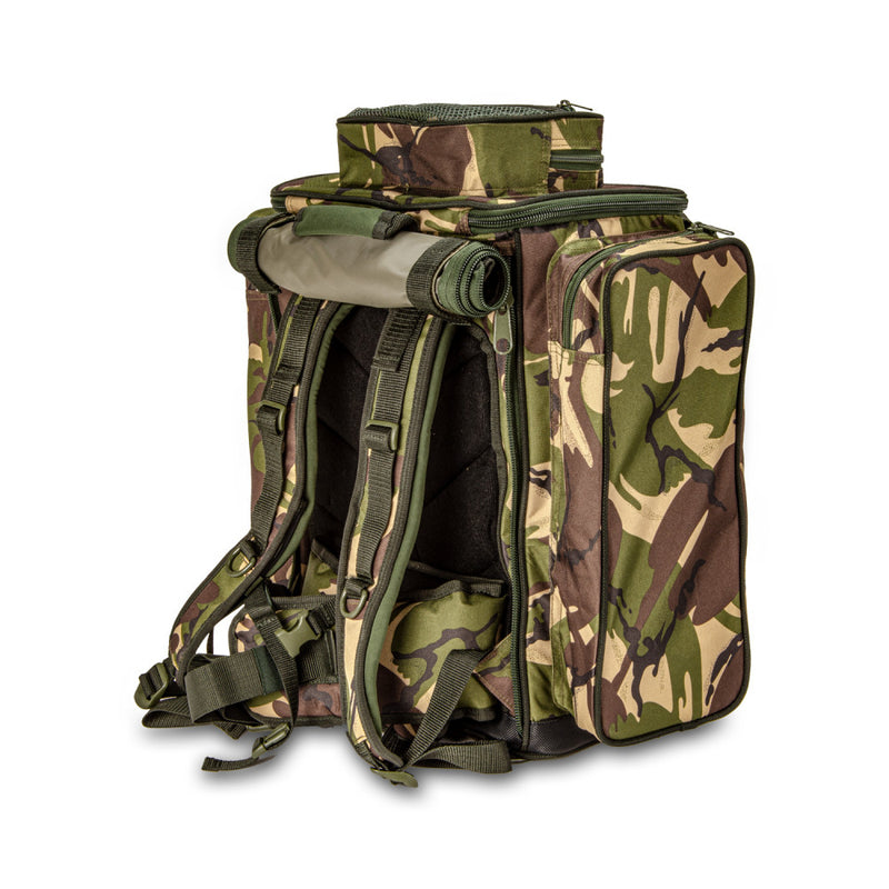 Saber DPM Camo 40L Rucksack - Barrow Bag - Carp Fishing