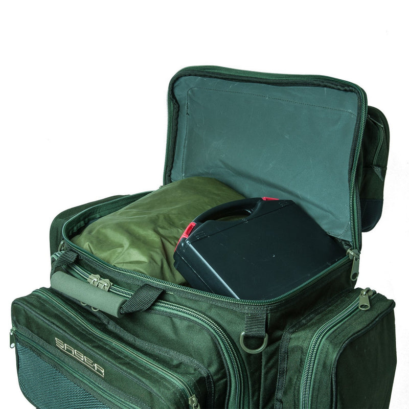 Saber Supra 90L Rucksack - Carp Fishing - Barrow Bag