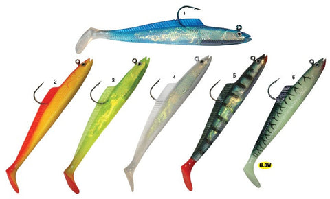 HTO Slim Wreckerz Sandeel Fishing Lures