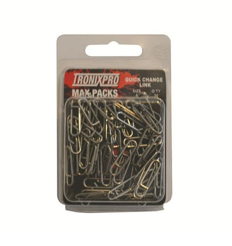 Tronixpro Max Pack Quick Change Sea Fishing Rig Links (50)