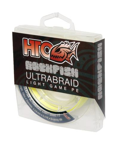 HTO Rockfish Ultrabraid Light Game Fishing Line
