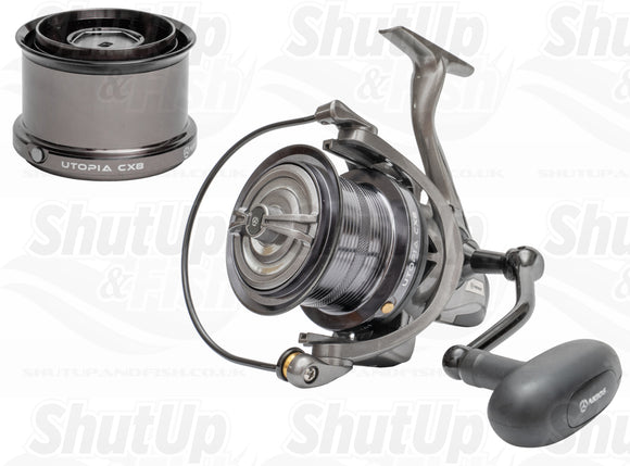 Akios Utopia CX8 Fixed Spool Fishing Reel