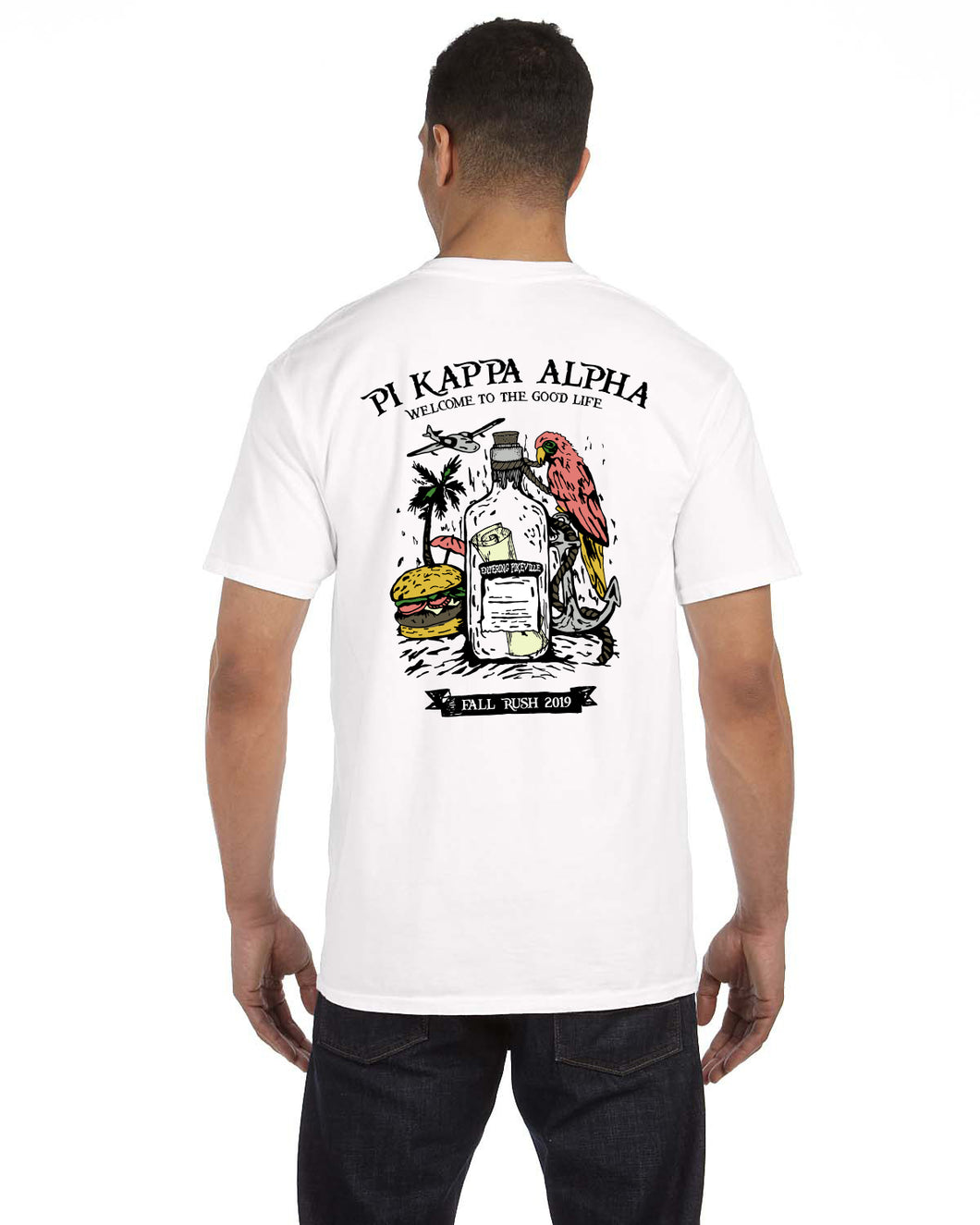 RUSH PIKE POCKET T-SHIRT