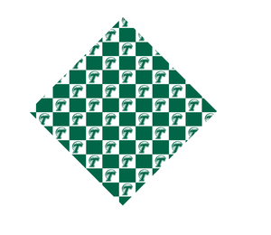 ROLL WAVE BANDANA TOP - 1