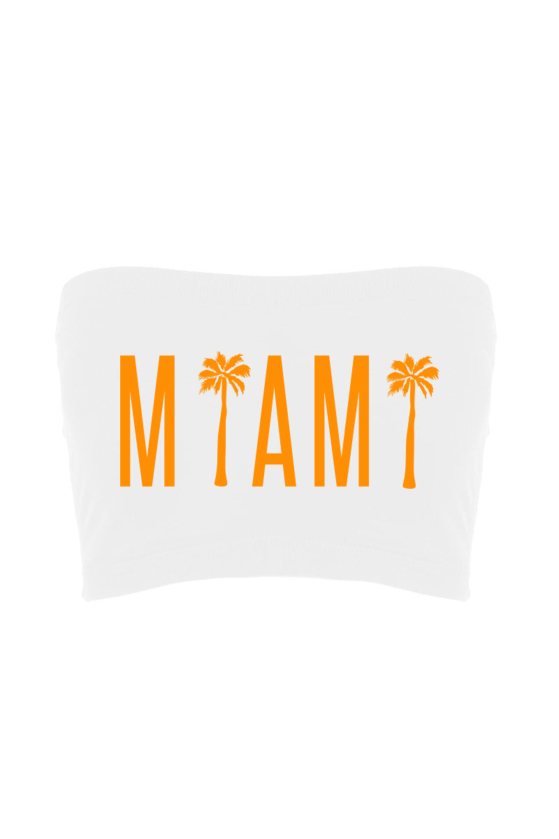 Miami Palm Tree Bandeau