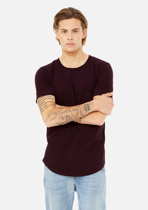 Open image in slideshow, The Curved Hem Tee
