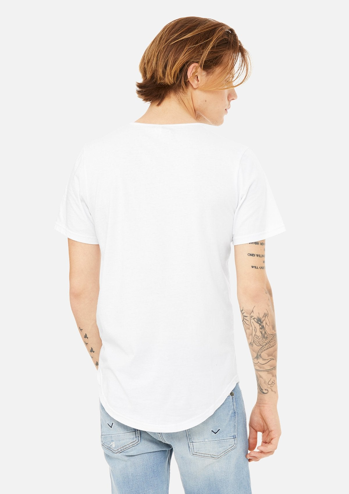 The Curved Hem Tee