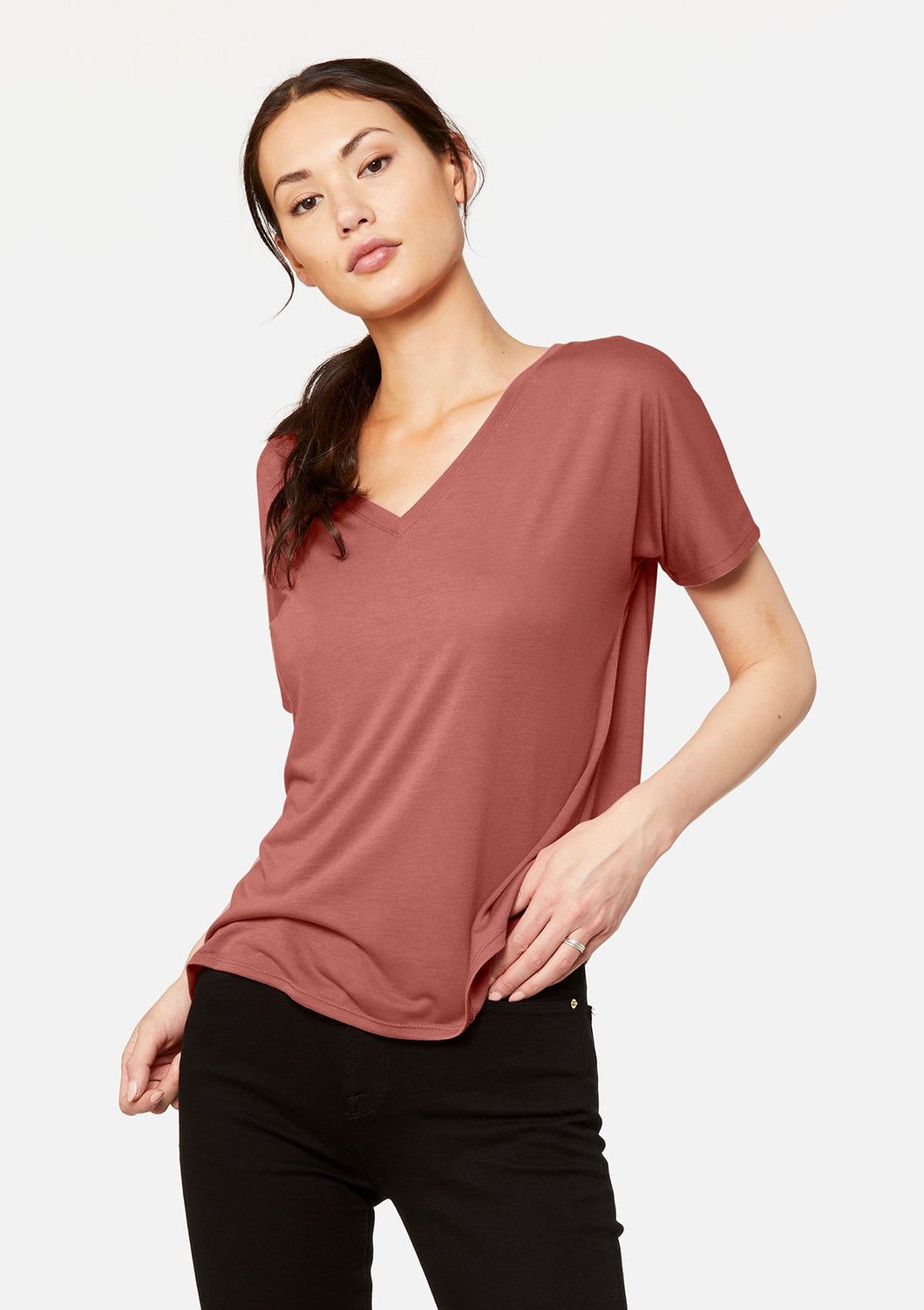 The Slouchy V-Neck Tee