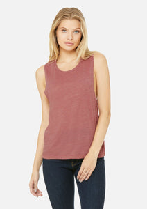The Vintage Slub Scoop Tank
