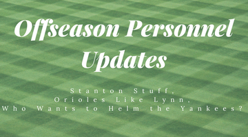 11/18/2017: Offseason Personnel Updates