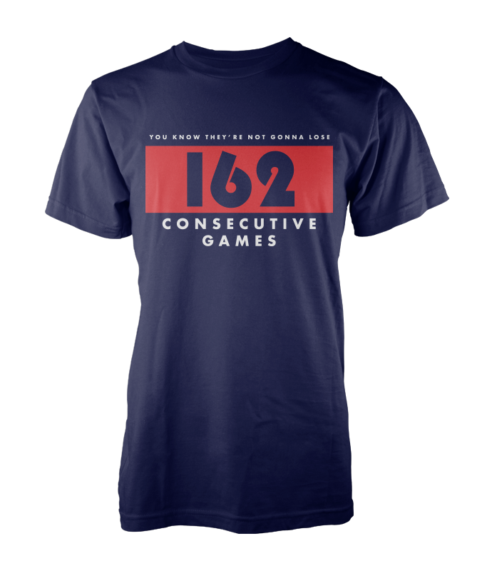 162 Consecutive - Navy