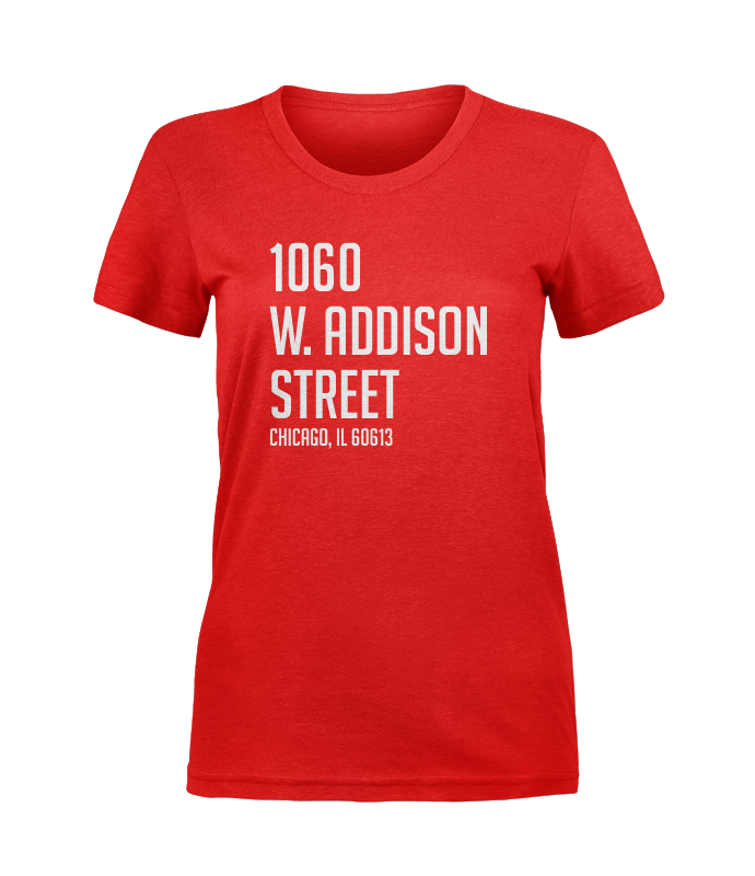 1060 W. Addison Tee (Women's) - Red