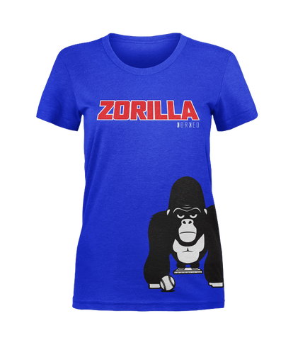 Women's - Blue Zorilla Tee
