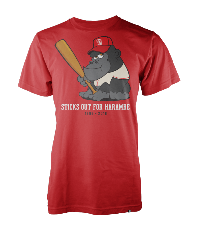 Sticks Out for Harambe - Red