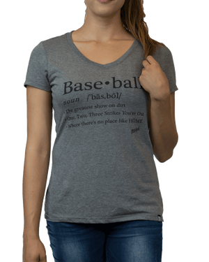 Baseball Definition (Women's) - Grey