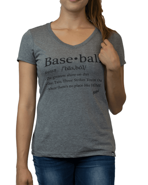 Women's Baseball Definition Tee