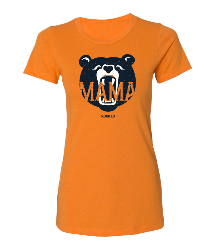 Mama Bear (Women's) - Orange