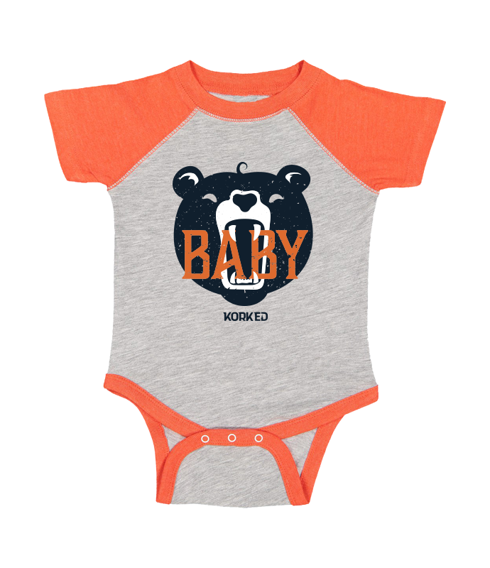 Baby Bear (Onesie) - Orange