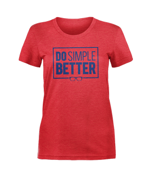 Do Simple Better™  (Women's) - Red