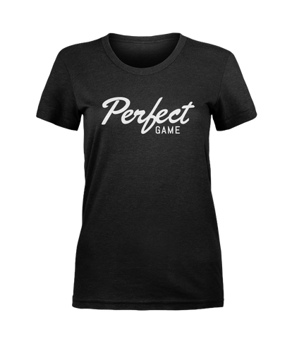 Women's Perfect Game Script Tee
