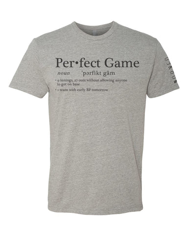 Perfect Game Definition Tee